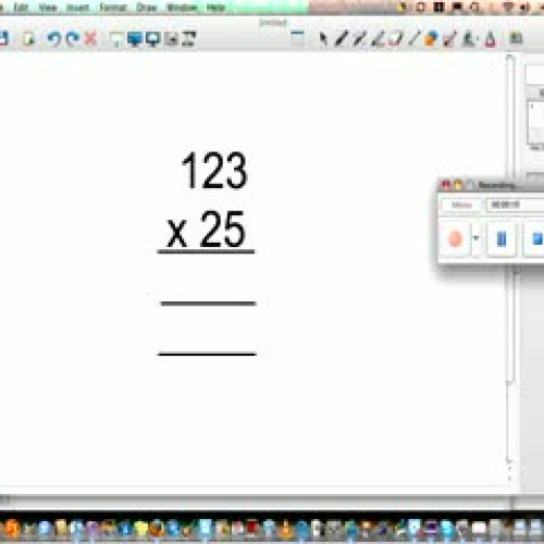 Long Multiplication The Video!