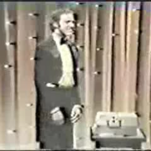 Andy Kaufman reads Gatsby