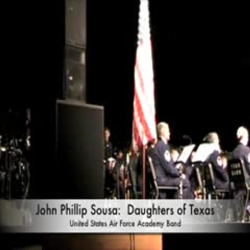 USAF Academy Band Daughters of TExas