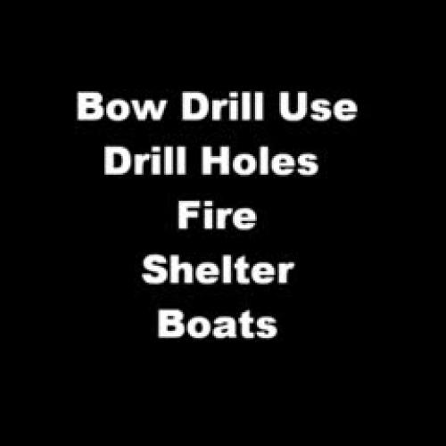 Aleut Bow Drill