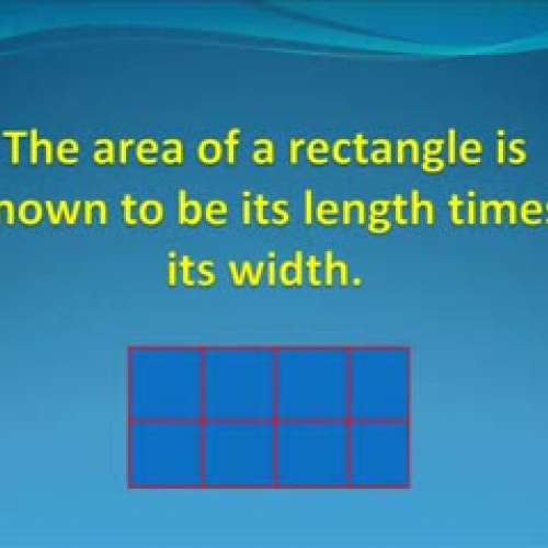 THE AREA OF A RIGHT TRIANGLE