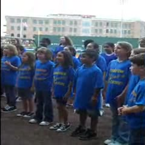 Right Side Up National Anthem