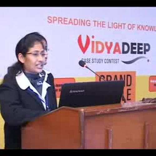 Vidyadeep CaseStudy Competion Conducted by SM