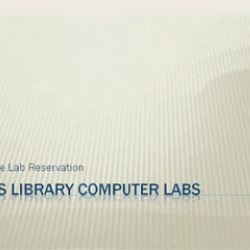 DHS Library Labs