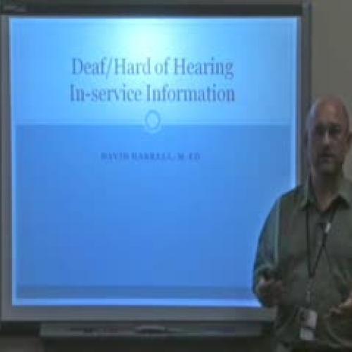 DHH Inservice Video
