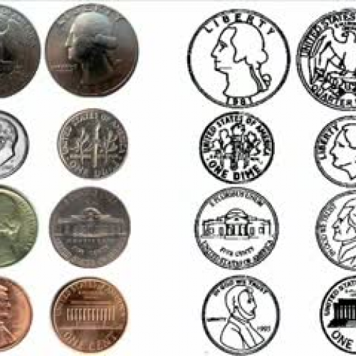Coins to Observe and Describe