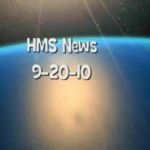 HMS News 9-20-10