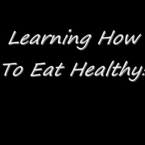 Pedro and Kert- Learning How to Eat Healthy