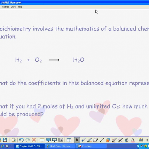 Stoichiometry Part 1