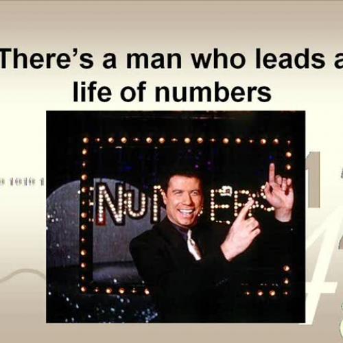 Math Rocks! Special Number Man