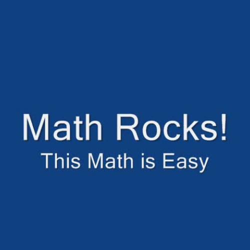 Math Rocks fractions decimals and percents