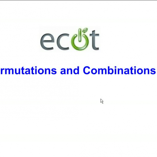 OGT Review - Combinations and Permutations