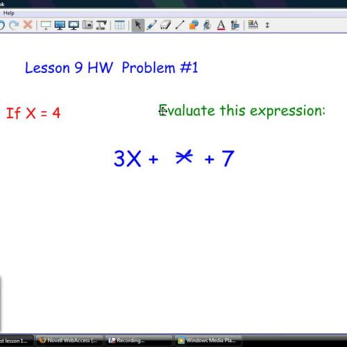 HOE Lesson 9