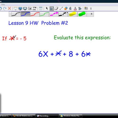 HOE Lesson 9 HW number 2