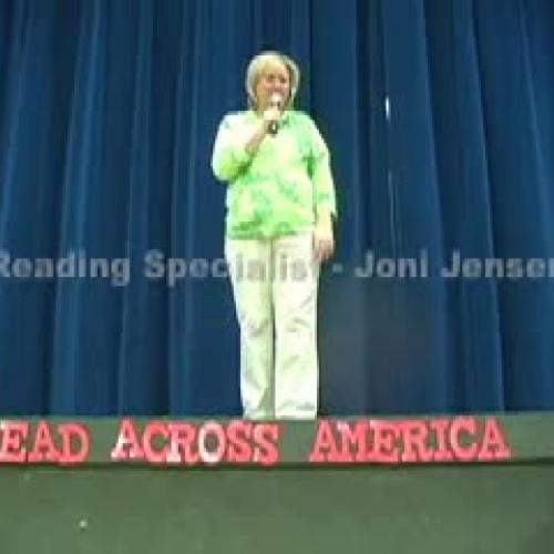Read Across America Vocabulary Parade