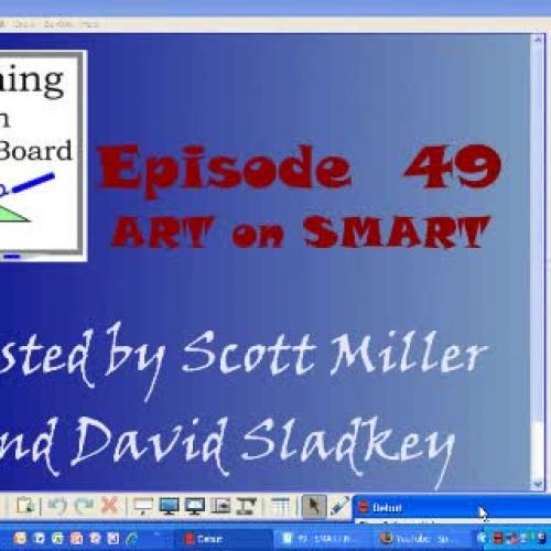Art on SMART  Teaching with Smartboard Episod