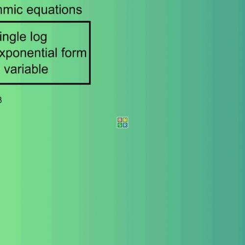 Solve logarithmic equations-2