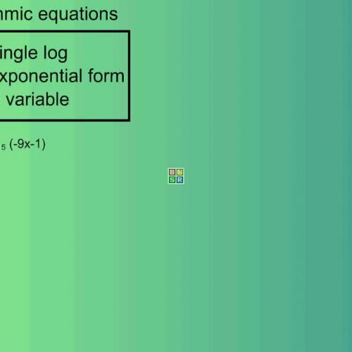 Solve logarithmic equations-3