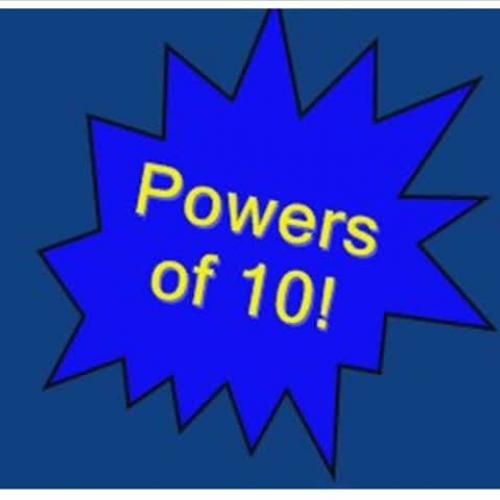 Math Rocks! Powers of 10