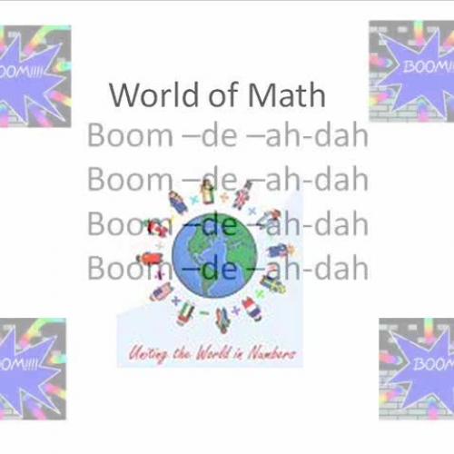 Math Rocks! The World of Math