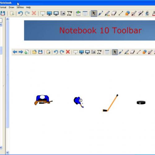 SMART Notebook 10 Toolbar