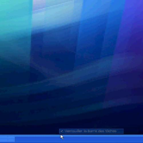 Verrouiller la barre des taches sous Windows
