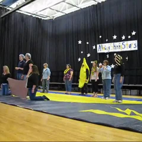 Staff Performance at the Talent Show