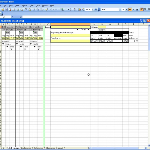 4 types of spreadsheet templates for NovaNet