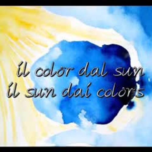 Il color dai suns il sun dai colors - bassa r