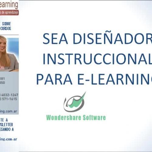 Sea diseniador didactico para elearning