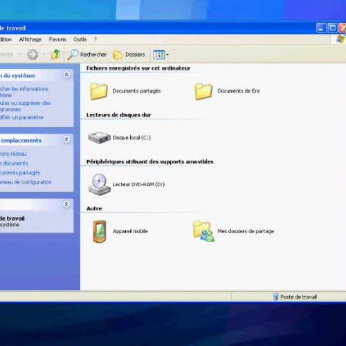 Fermer une fenetre sous windows XP