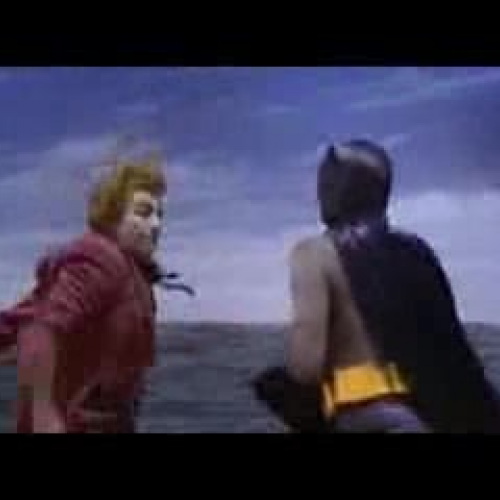1960s Batman Fight Scene Onomatopoeia