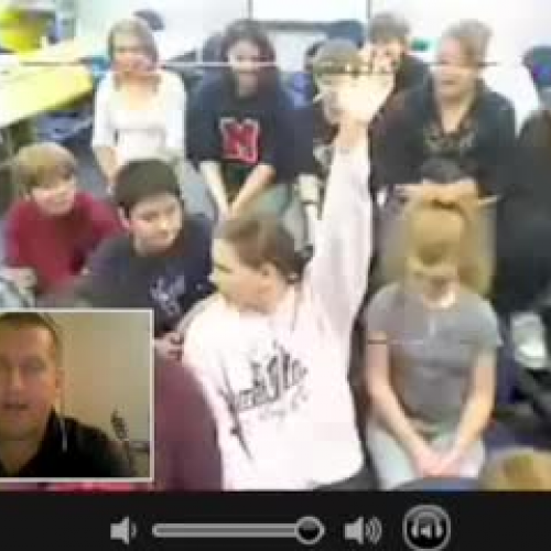 Skype w Mr McClungs Class 1