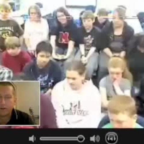 Skype w Mr McClungs Class 2