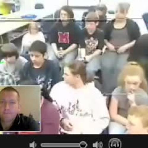 Skype w Mr McClungs Class 4