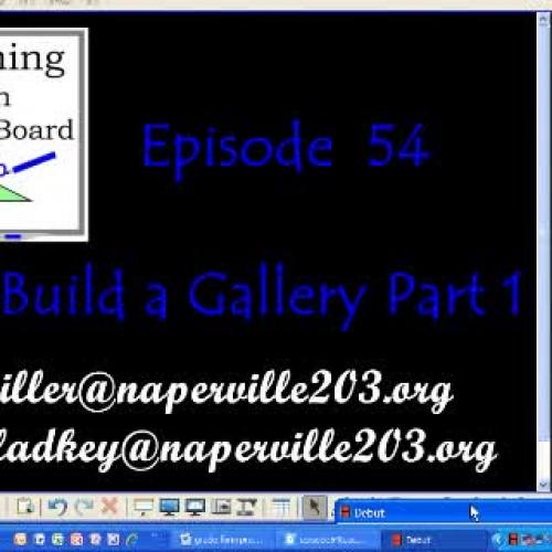 Using the Gallery in Smartboard    TWS Episod