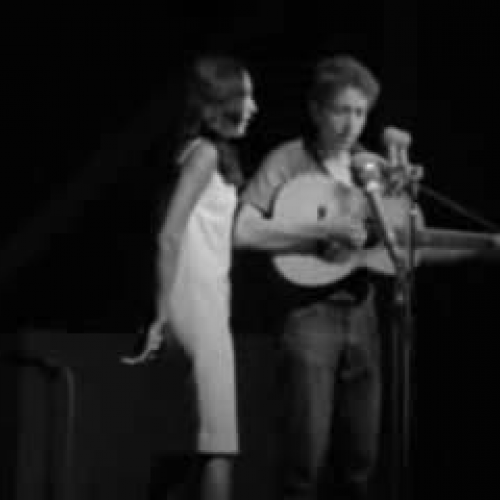 Joan Baez and Bob Dylan With God on Our Side