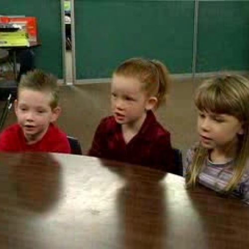 Teaching Opposites to Pre-K Students