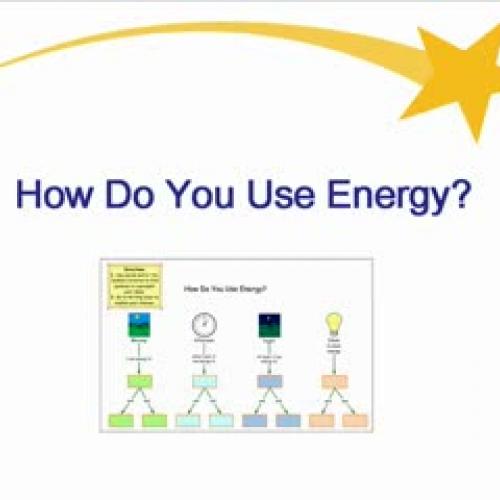 How Do You Use Energy?