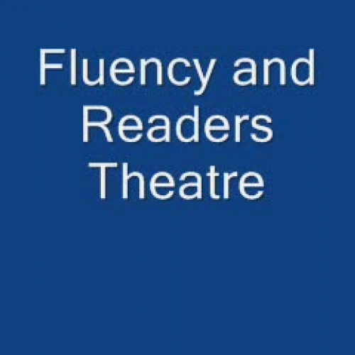 Fluency and Readers Theatre