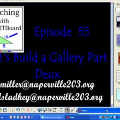 The Smartboard Gallery Part 2 of 2  TWS Episo