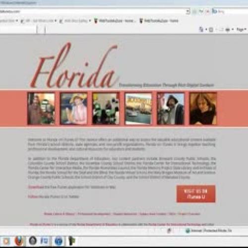 Florida on i tunes
