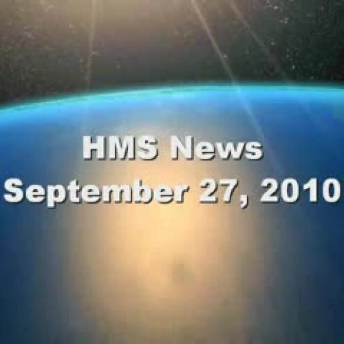 HMS News 9-27-10