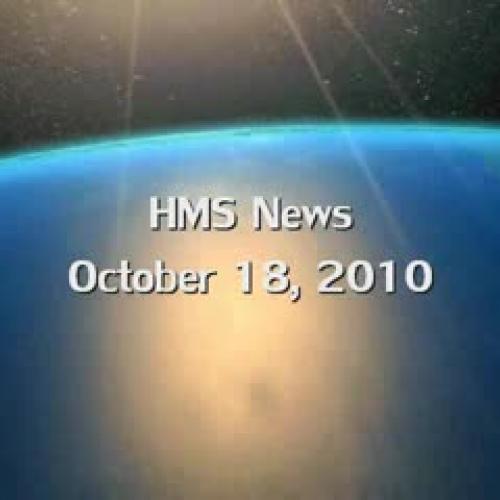 HMS News 10-18-10