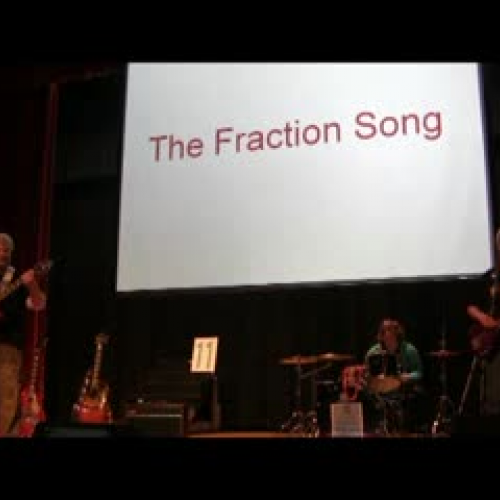 The Fraction Song LIVE!!!