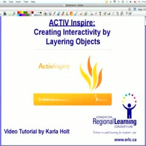 Using Layers in ActivInspire