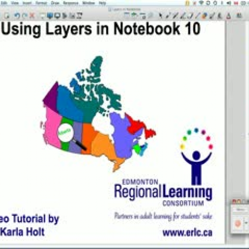 Using Layers in Notebook 10