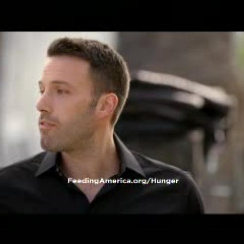 Hunger Prevention - Ben Affleck