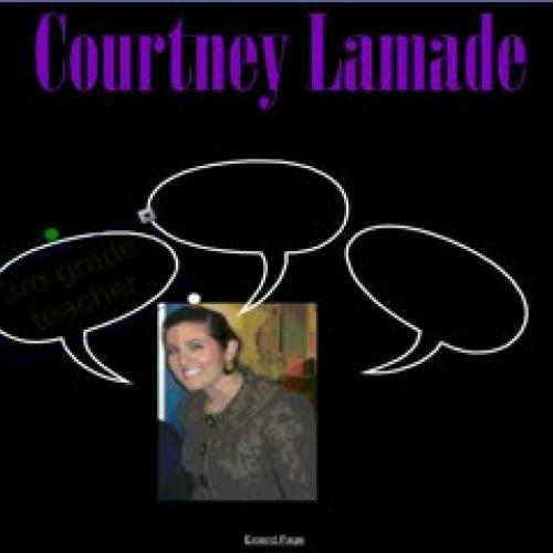 SMART Exemplary Educator App--Courtney Lamade