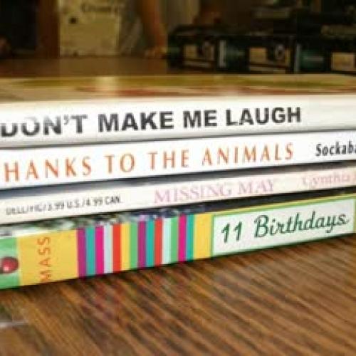 Brink Book Spine Poetry 2011